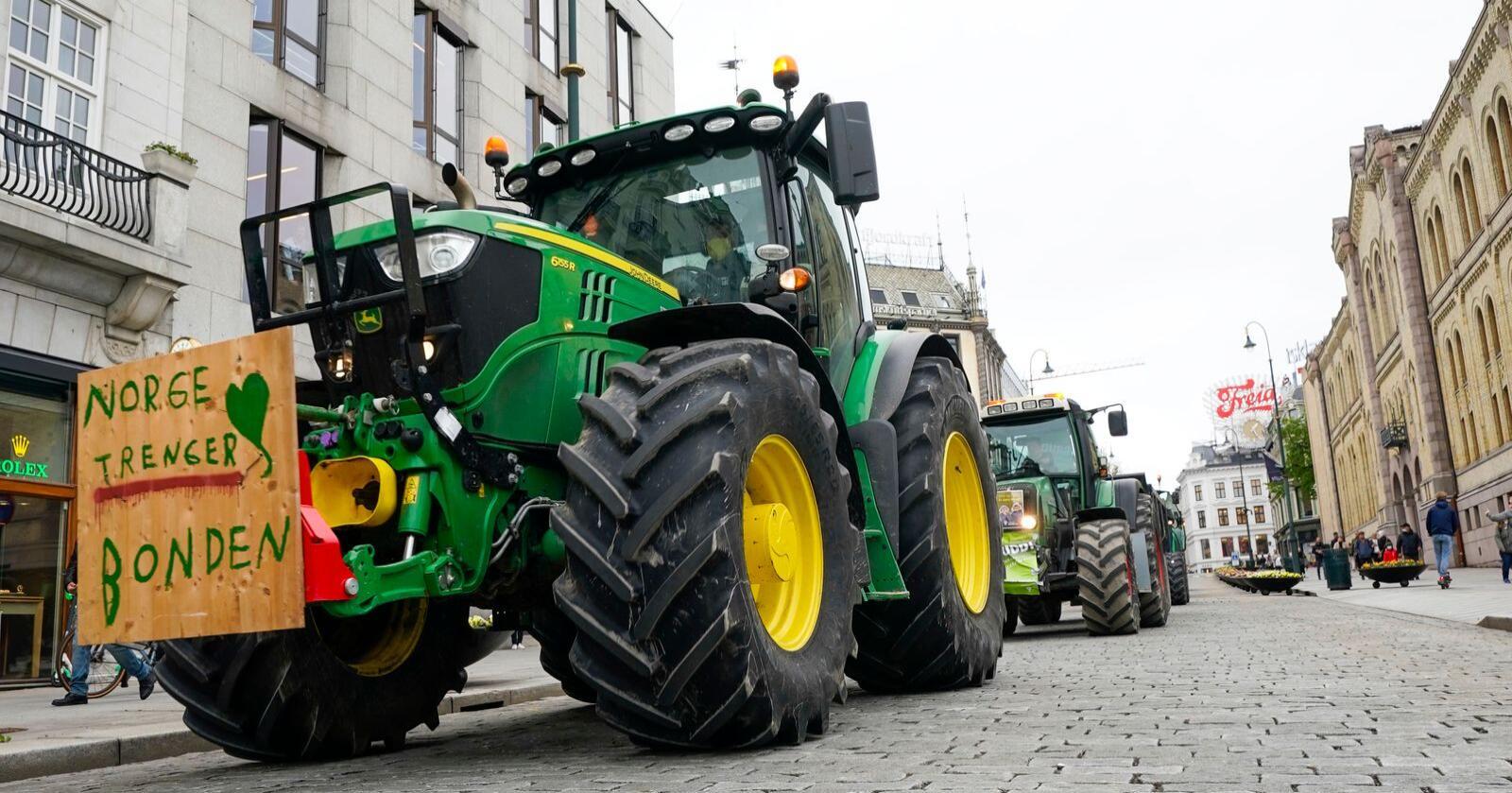 Reduksjon av offentlige ansatte, vil gi bonden mer på konto, skriver innsenderen. Foto: Lise Åserud / NTB