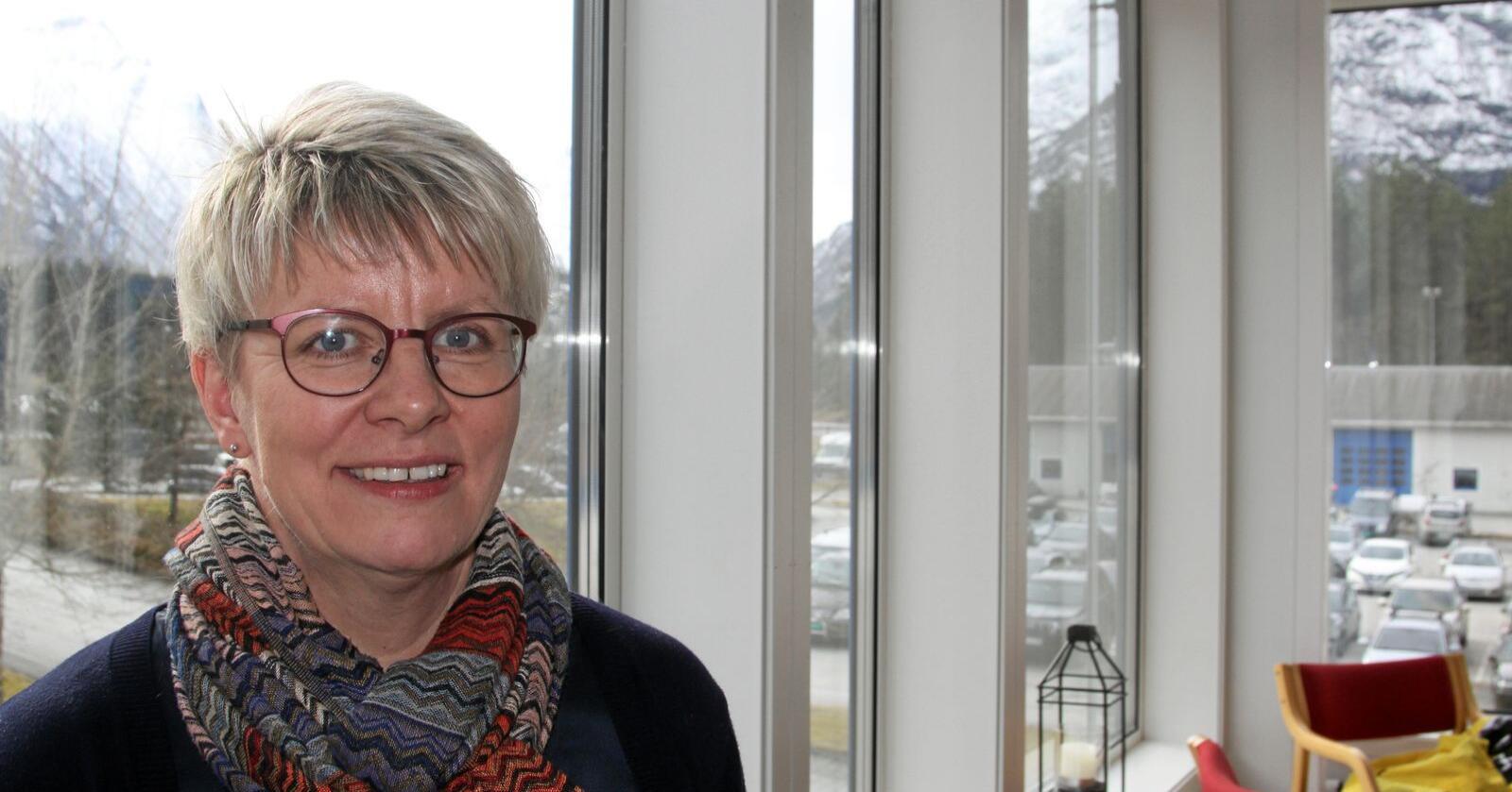 Marit Haugen ble gjenvalgt som styreleder i Tine. Foto: Janne Grete Aspen