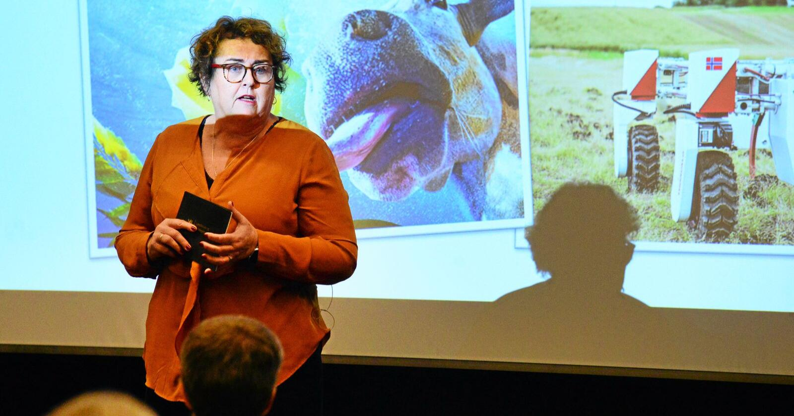 Matsvinn: Landbruks- og matdepartementet vurderte i 2017 at ein ny lov om matsvinn var unødvendig. Nå ønsker landbruks- og matminister Olaug Bollestad (KrF) loven velkommen. Foto: Siri Juell Rasmussen