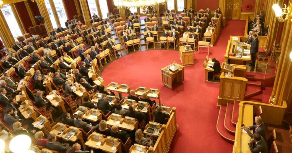 Myndighetsavståelse krever tre firedels flertall på Stortinget. Foto: Vidar Ruud / NTB scanpix