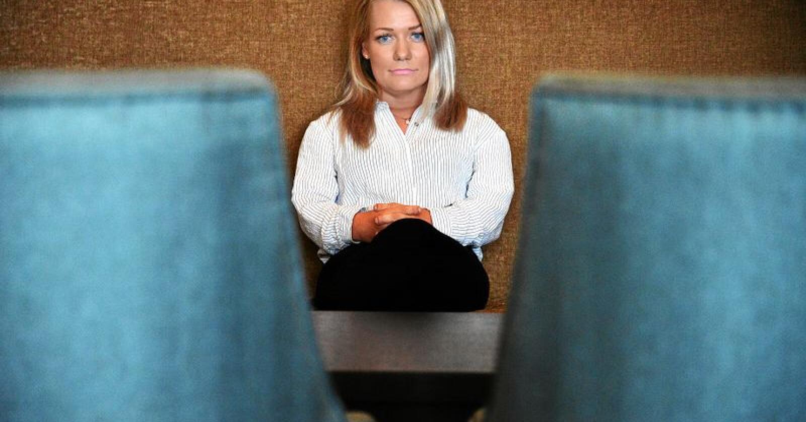Stortingsrepresentant Sandra Borch (Sp). Foto: Siri Juell Rasmussen