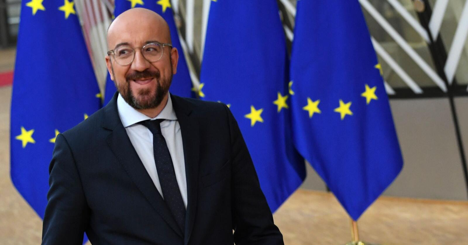 EU-president Charles Michel vil gjerne få på plass en budsjettavtale, men om det skjer på dette toppmøtet og hvor lang tid det tar, er det ingen som kan si. Foto: Riccardo Pareggiani / AP / NTB scanpix