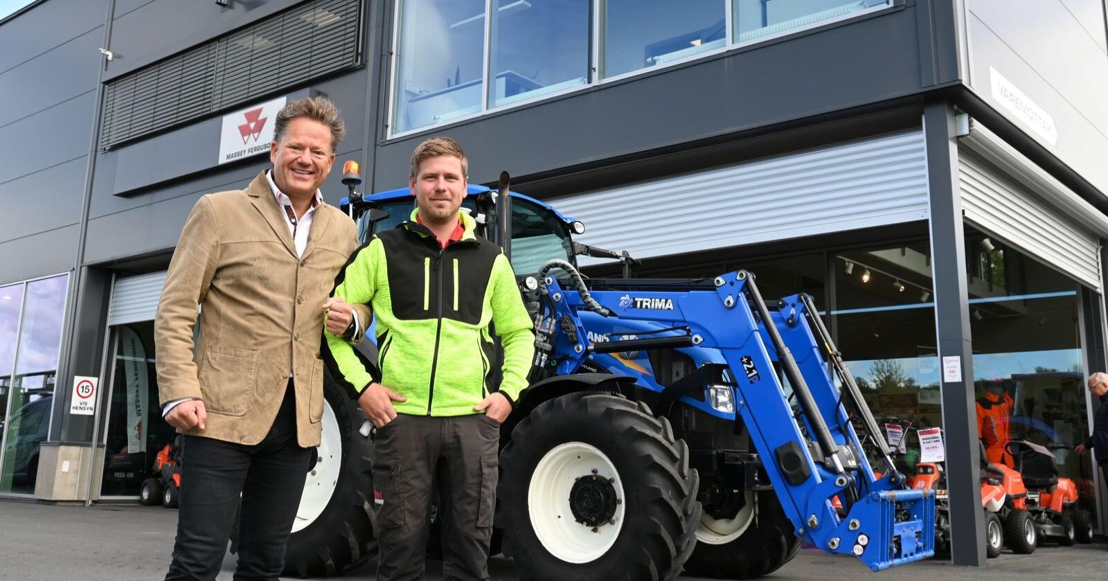 Overgang: Mats Oliver Degvold tidligere daglig leder og hovedeier i Eiksenteret Gjøvik, går til A-K maskiner.