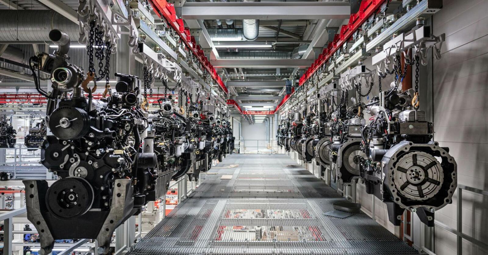Volum: Agco power har kapasitet til å produsere inntil 100 000 motorer pr år. Motorene benyttes i Valtra, Fendt og Massey Ferguson traktorer.