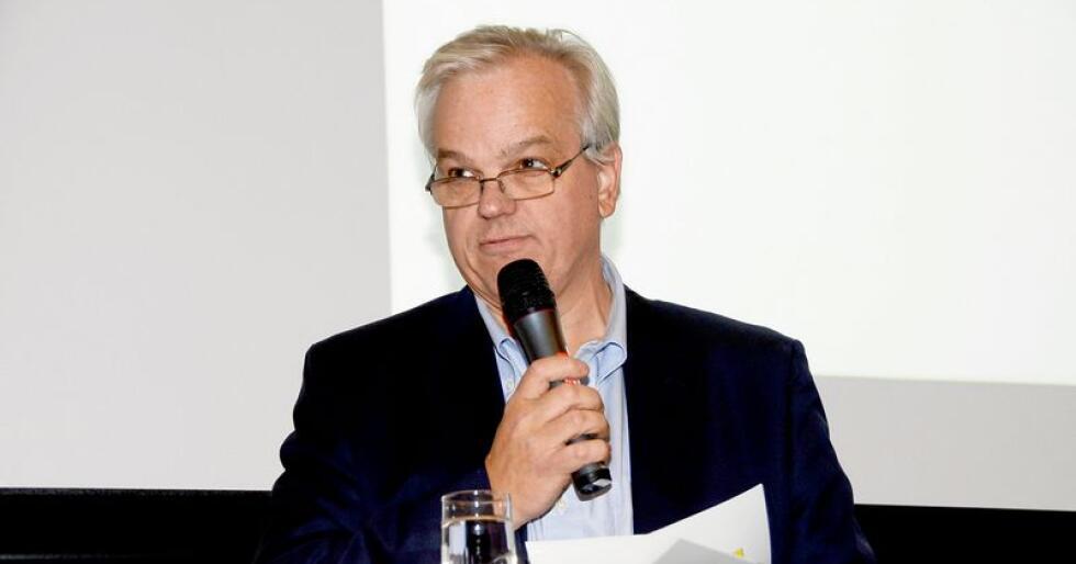 Konsernsjef i Felleskjøpet, John Arne Ulvan, skryter av datterselskapene etter et utfordrende halvår for konsernet. Foto: Mariann Tvete