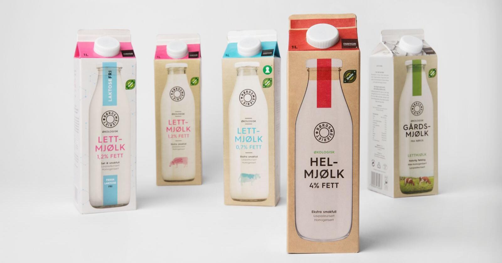 I opptil 18 måneder vil de som legger om til økologisk melkeproduksjon få 25 øre literen ekstra. Foto: Rørosmeieriet