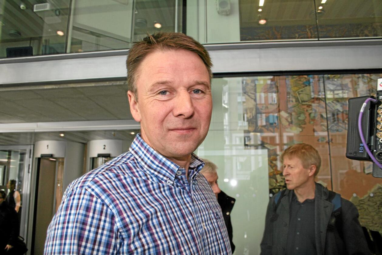 Reagerer: Lars Petter Bartnes. Foto: Bjarne Bekkeheien Aase