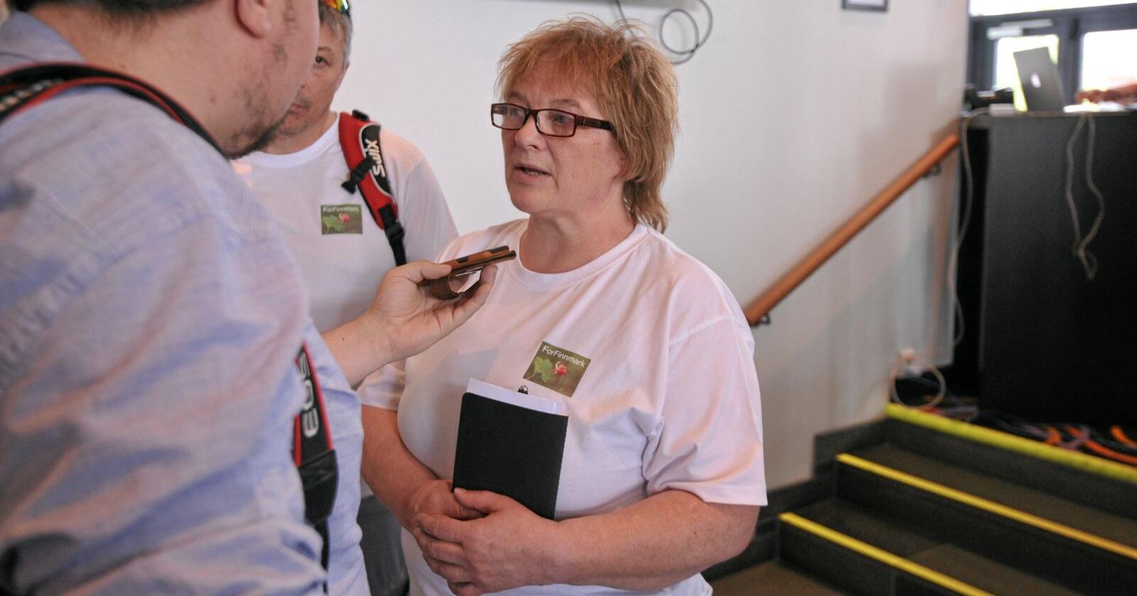 Tidligere stortingspolitiker Randi Karlstrøm har meldt seg inn i Senterpartiet. Foto: Sivert Rossing