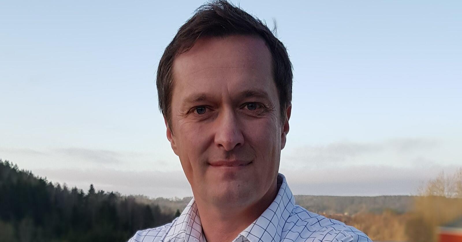 Bjarne Holm er ansatt som ny direktør i Norsk Landbruksrådgiving. Foto: Norsk Landbruksrådgiving
