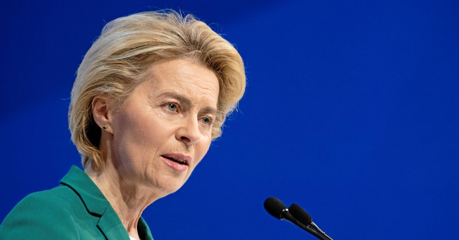 Green Deal: Ursula von der Leyen, President i Europakommisjonen la i desember i fjor fram EUs Green Deal. Foto: AP / NTB scanpix