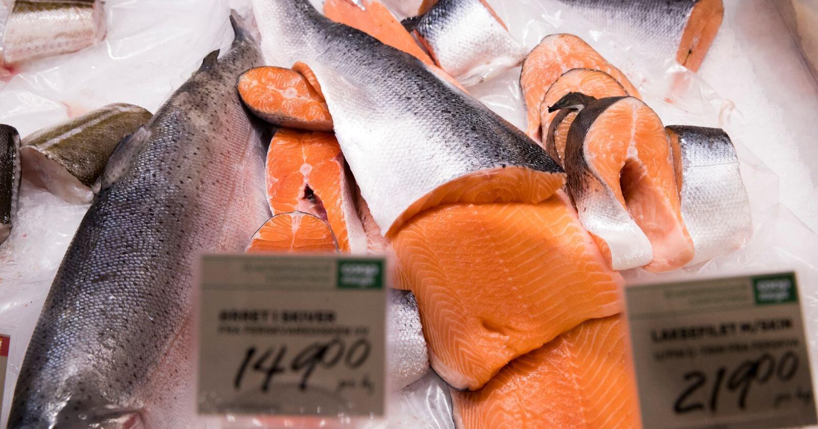 Det er ingen tydelige effekter av koronaviruset i norsk import og eksport. Unntaket er eksport av fisk. Foto: Terje Pedersen / NTB scanpix