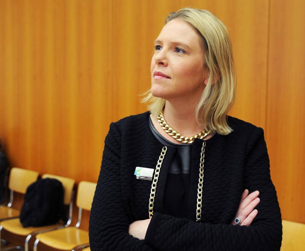 – Regjeringen vil ha effektiv landbruksforvaltning og bedre bruk av forskningsmidler, sier landbruks- og matminister Sylvi Listhaug (Frp). Foto: Mariann Tvete