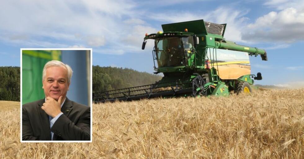 – Tørken i 2018 har satt mange spor etter seg, konstaterer konsernsjef John Arne Ulvan (innfelt). Også streiken i september har bidratt til svakere driftsresultat for Felleskjøpet Agri i trdje kvartal. (Arkivfoto)