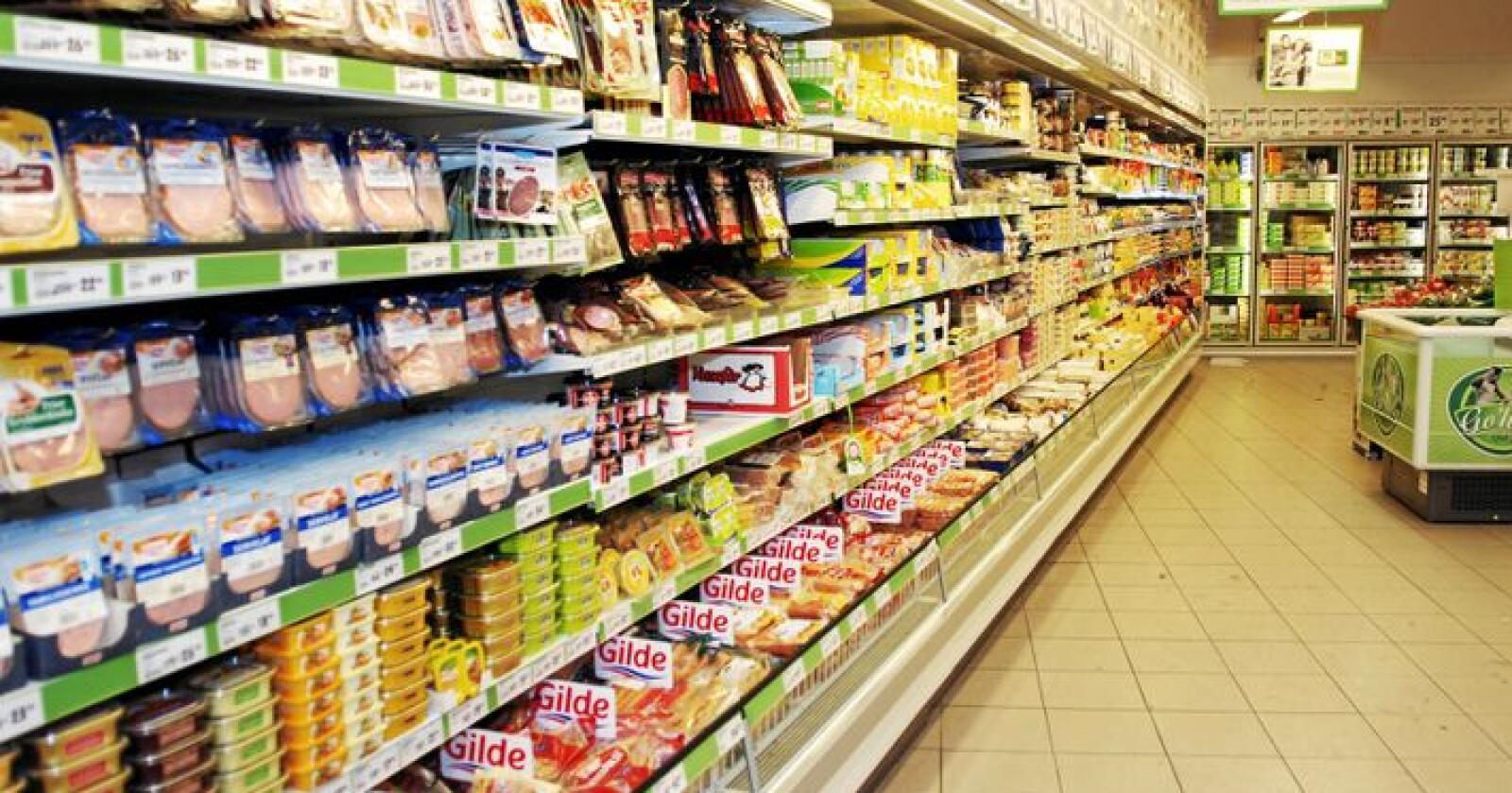 Prisen på mat og drikke sank med 0,9 prosent fra april til mai. Foto: Siri Juell Rasmussen