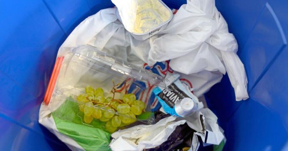 Mindre restavfall: Resirkulering maksimerer verdi og minimerer ressursbruk. Foto: Mariann Tvete