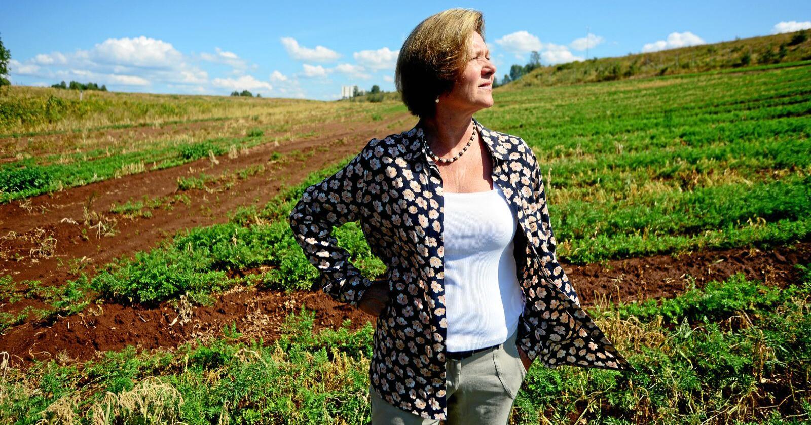 Elisabeth Morthen, administrerende direktør i Gartnerhallen, er fortsatt ikke ferdig med  saken om underslaget, som ble avdekket i 2017. Foto: Siri Juell Rasmussen