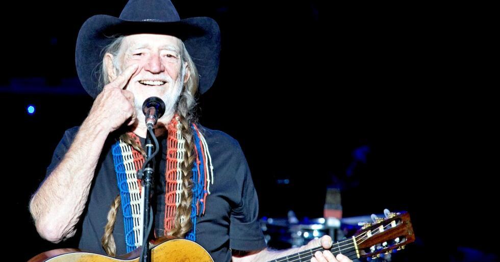 Musikeren Willie Nelson er fan av amerikansk landbruk. Foto: Håkon Mosvold Larsen / NTB scanpix