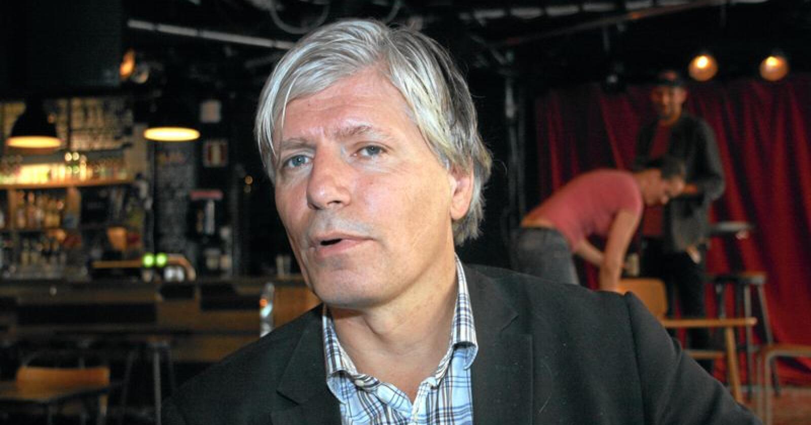 Statsråd Ola Elvestuen (V) ble utfordret om rovviltnemnder i Stortinget onsdag. Foto: Bjarne Bekkeheien Aase