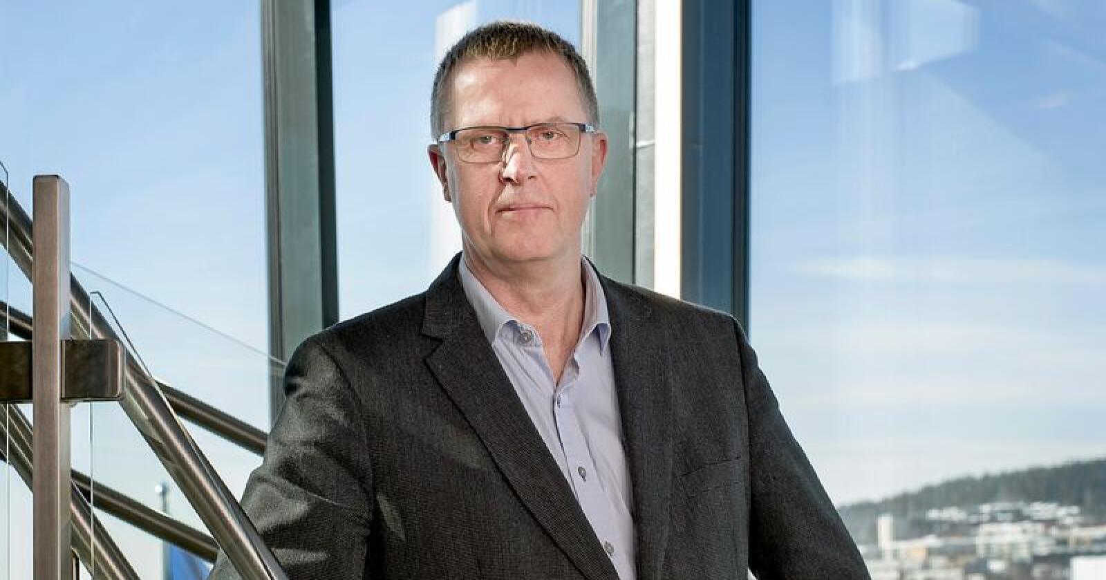 Per Olav Skutle er innstilt som ny styreleder i Gartnerhallen. Foto: Anita Arntzen