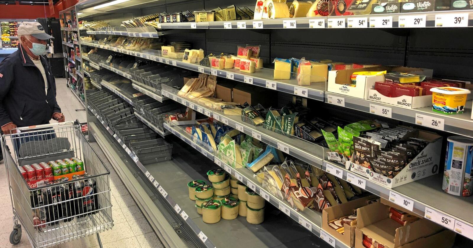 Elastisk prising: Hvorfor koster mat mye mer i Tyskland enn i Polen, når landenes landbruks- og handelspolitikk er identisk, spør innsenderen. Foto: Lars Johan Wiker