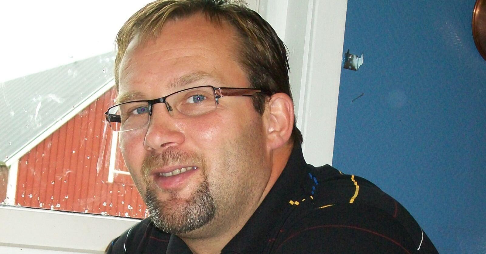 Rune Solli opplevde alle svinebønders verste mareritt: MRSA i grisehuset. Foto: Privat
