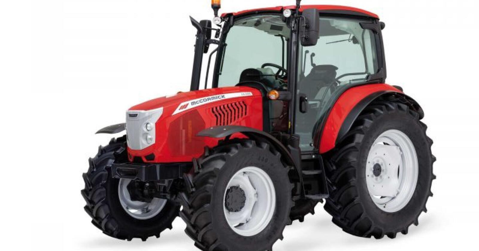 Italiensk: McCormick produseres av Argo Tractors S.p.A.  som er plassert mellom Modena og Parma i Nord-Italia