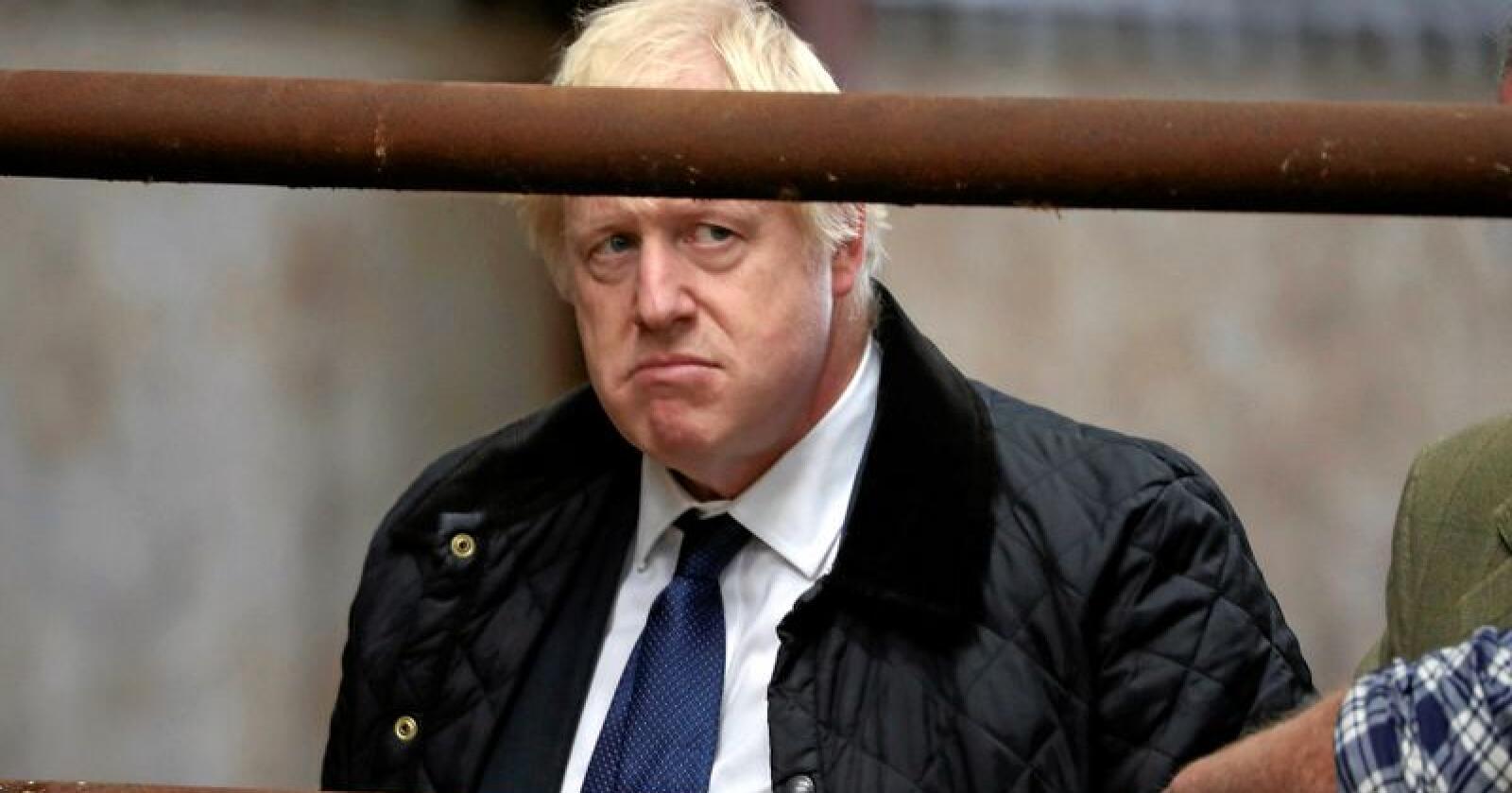 Boris Johnson. Foto: Andrew Milligan / PA via AP / NTB Scanpix