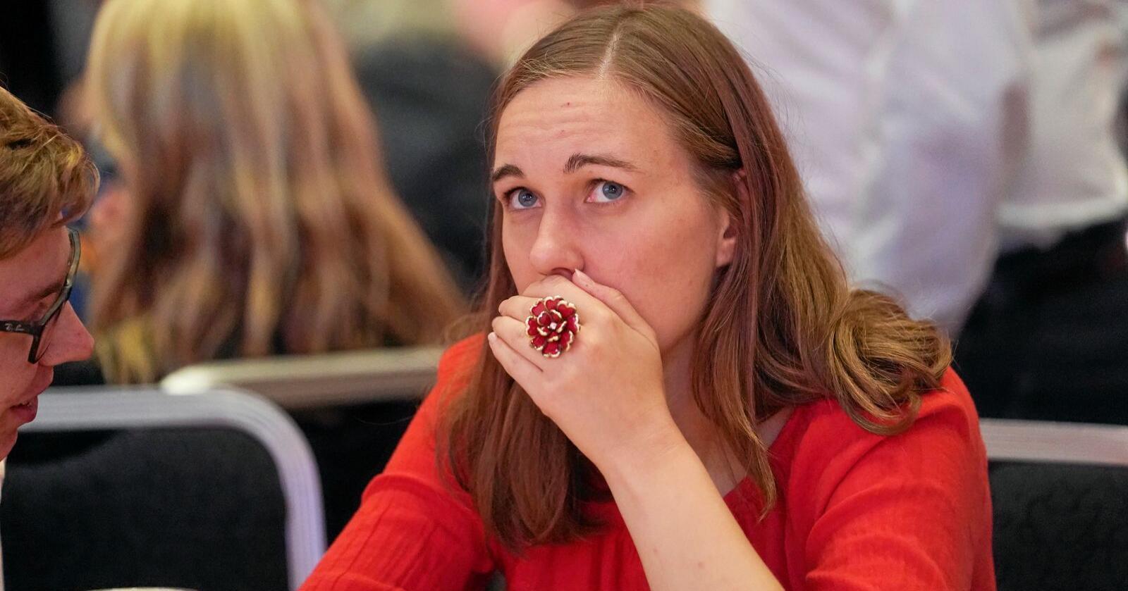 AUF-leder: Ina Libak fronter forslaget om å skattlegge primærbolig langt hardere. Foto: Fredrik Hagen / NTB scanpix