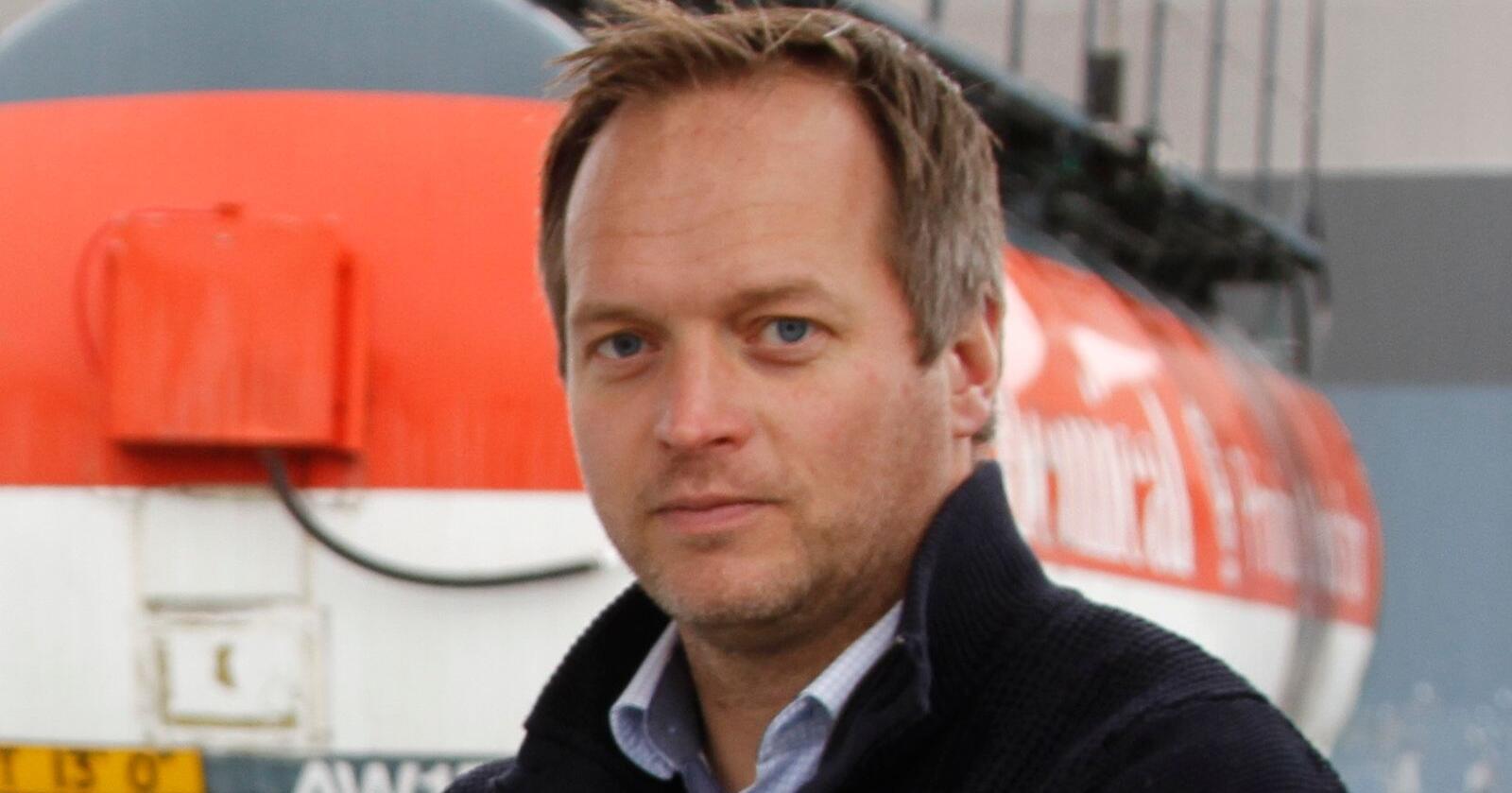 Geir H. Ingeborgrud i ECO1Biodiesel