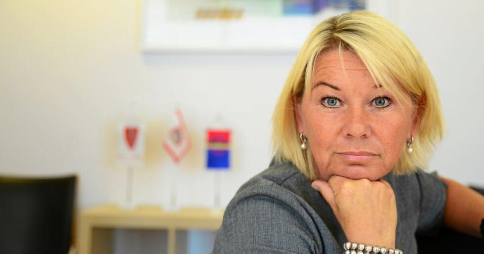 Monica Mæland (H). Foto: Siri Juell Rasmussen