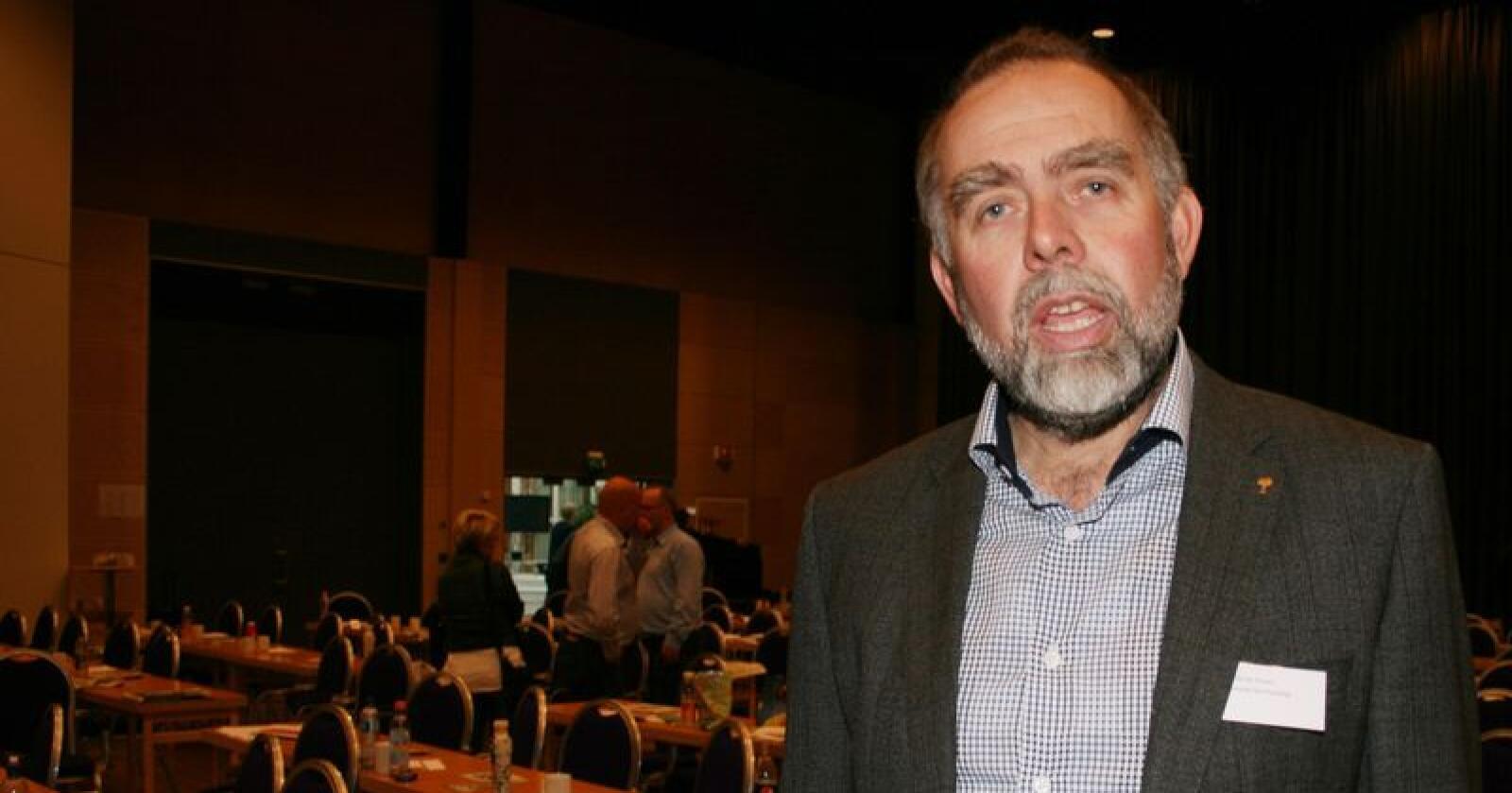 Lars Morten Rosmo er Norturas øverste tillitsvalgte i Midt-Norge. Han erkjennner at det der delte meninger om den nye modellen for inntransport i regionen. Foto: Bjarne Bekkeheien Aase