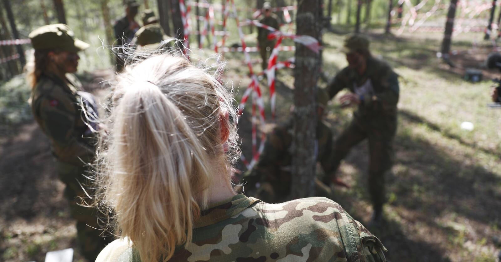 Antallet varslingssaker har eksplodert i Forsvaret det siste året. Illustrasjonsfoto fra opptaket til Jegertroppen: Torbjørn Kjosvold/ Forsvaret