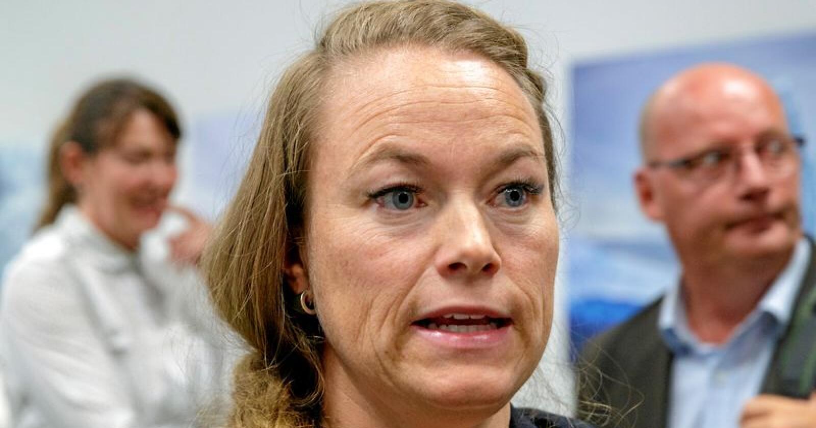 Kari Anita Furunes (Sp) er ordfører i Meråker kommune. Foto: Cornelius Poppe / NTB scanpix
