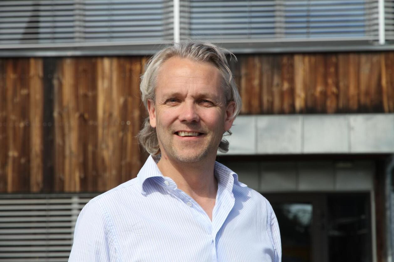 3. oktober går Gunnar Thorud inn i rollen som administrerende direktør for Volvo Maskin AS. (Foto: Espen Syljuåsen)