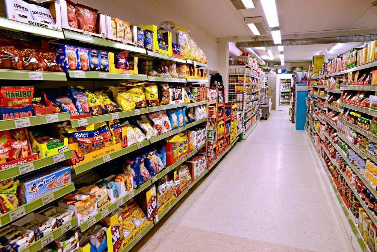 Ikke dårlig utvalg: Vi har flere tusen dagligvarebutikker i Norge.  Foto: Mariann Tvete
