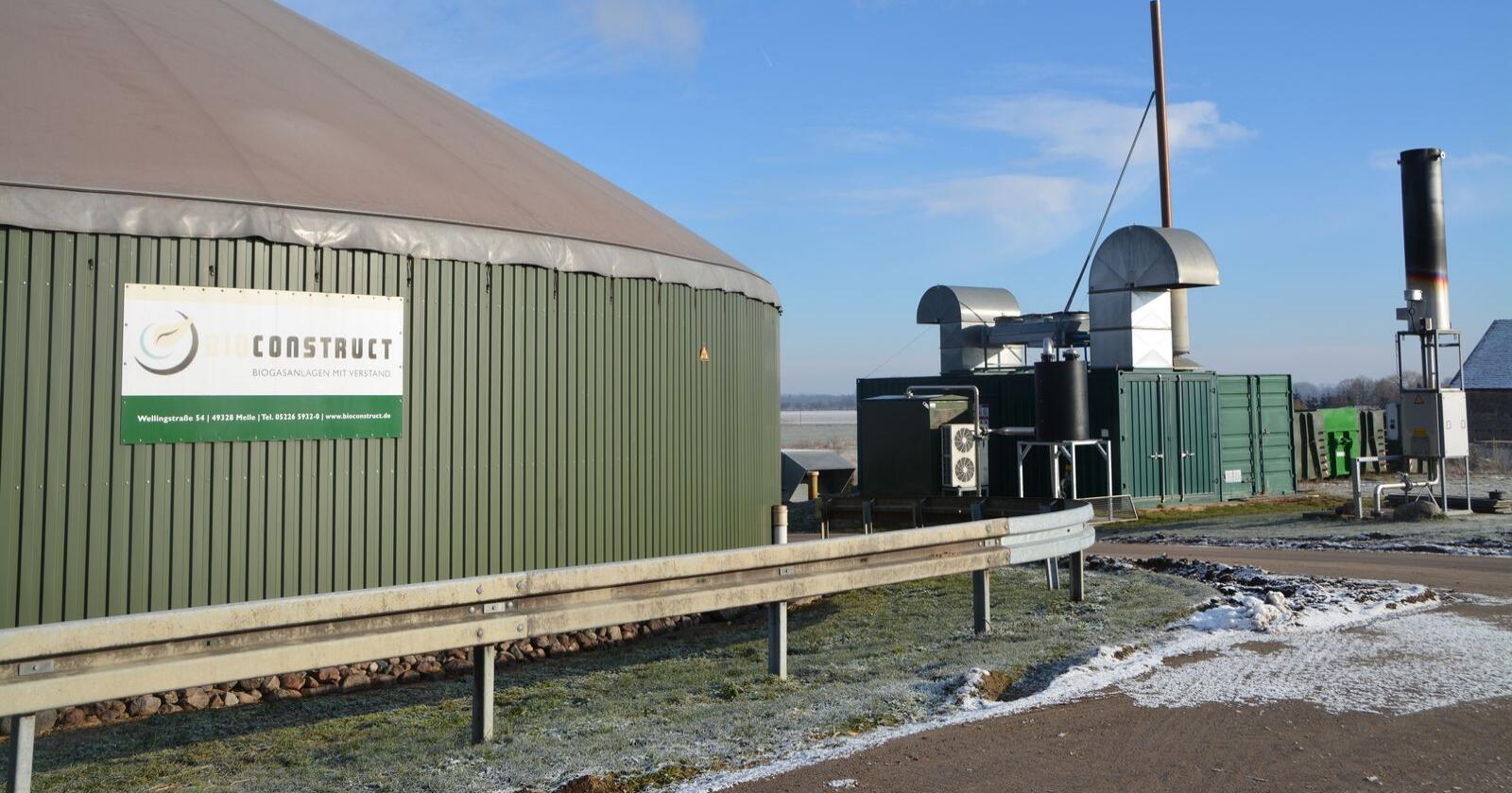 I EU fases kullkraftverk ut til fordel for fornybar energi og gass. Bildet viser produksjon av biogass i Jütebog, en times kjøring fra Berlin. (Foto: Anders Sandbu)