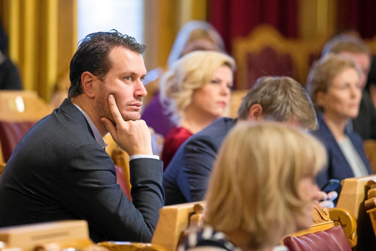 – Hordaland og Rogaland bør snakke sammen og forsøke å lage en avtale, sier Helge André Njåstad som leder Stortingets kommunalkomité. Foto: Håkon Mosvold Larsen / NTB scanpix