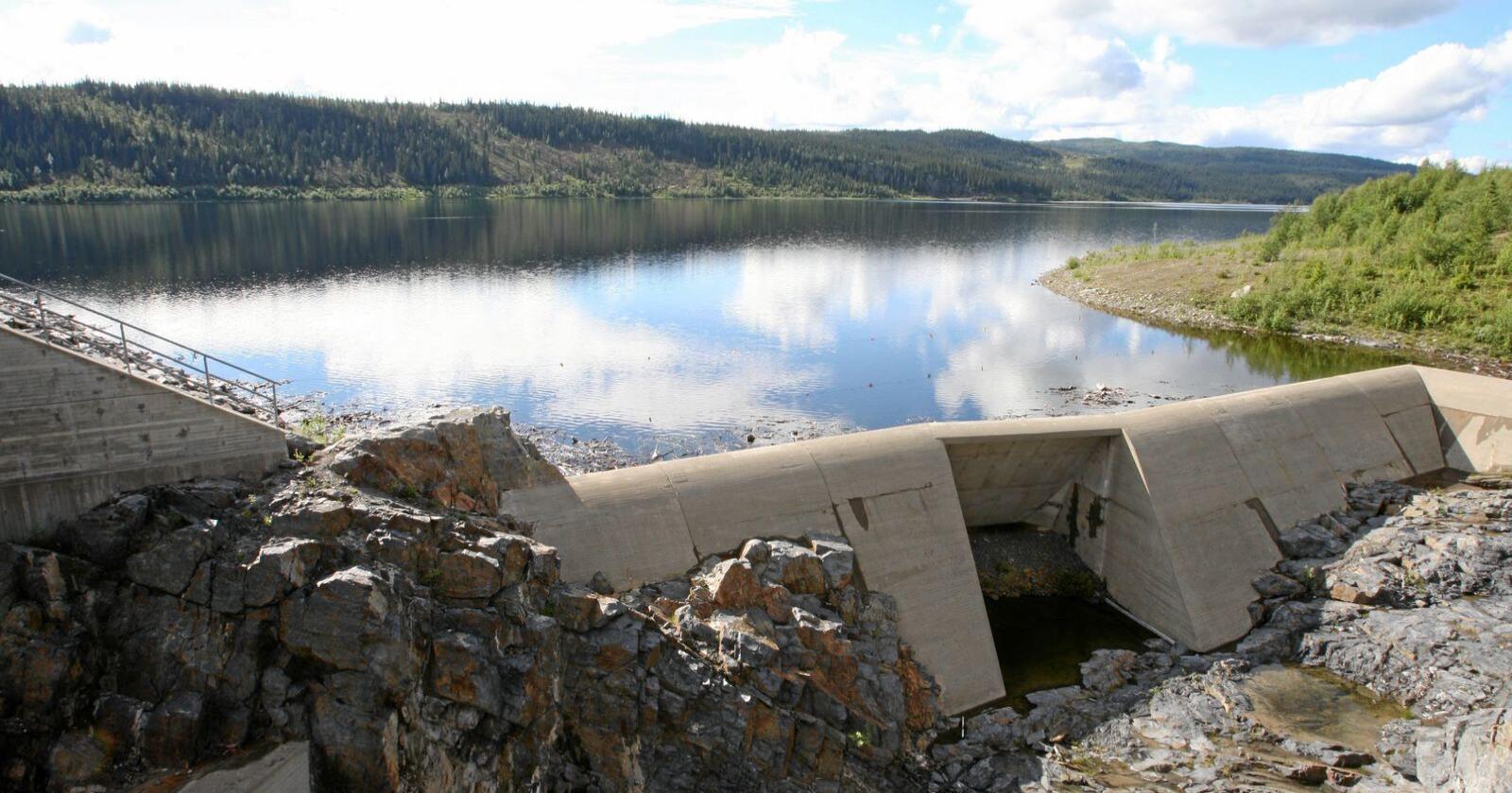 Gladmelding: Kraftkommunene beholder ordningene som sikrer dem direkteinntekter fra vannkraftverkene. Foto: Bjørn Sigurdsøn/NTB scanpix