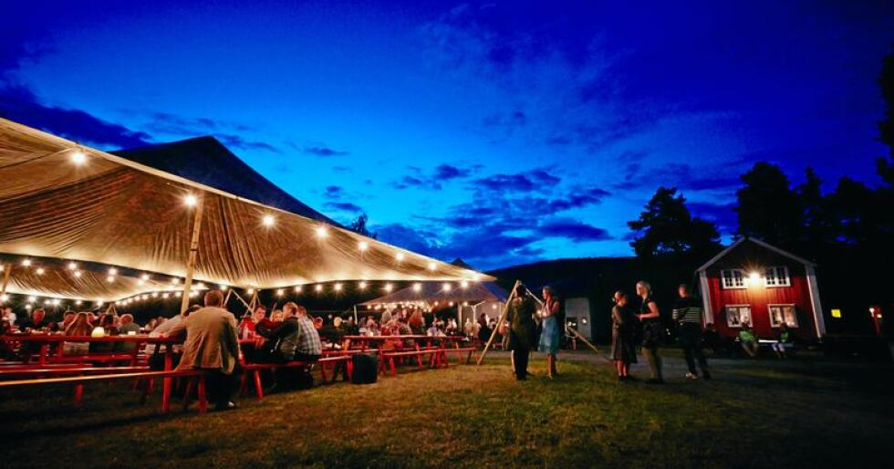 Musea er flotte rammer kring mange festivalar. Jørn Hilme-stemnet er landets eldste folkemusikkfestival og har sidan 1960 halde hus på Valdres Folkemuseum på Fagernes. Foto: Cathrine Dokken
