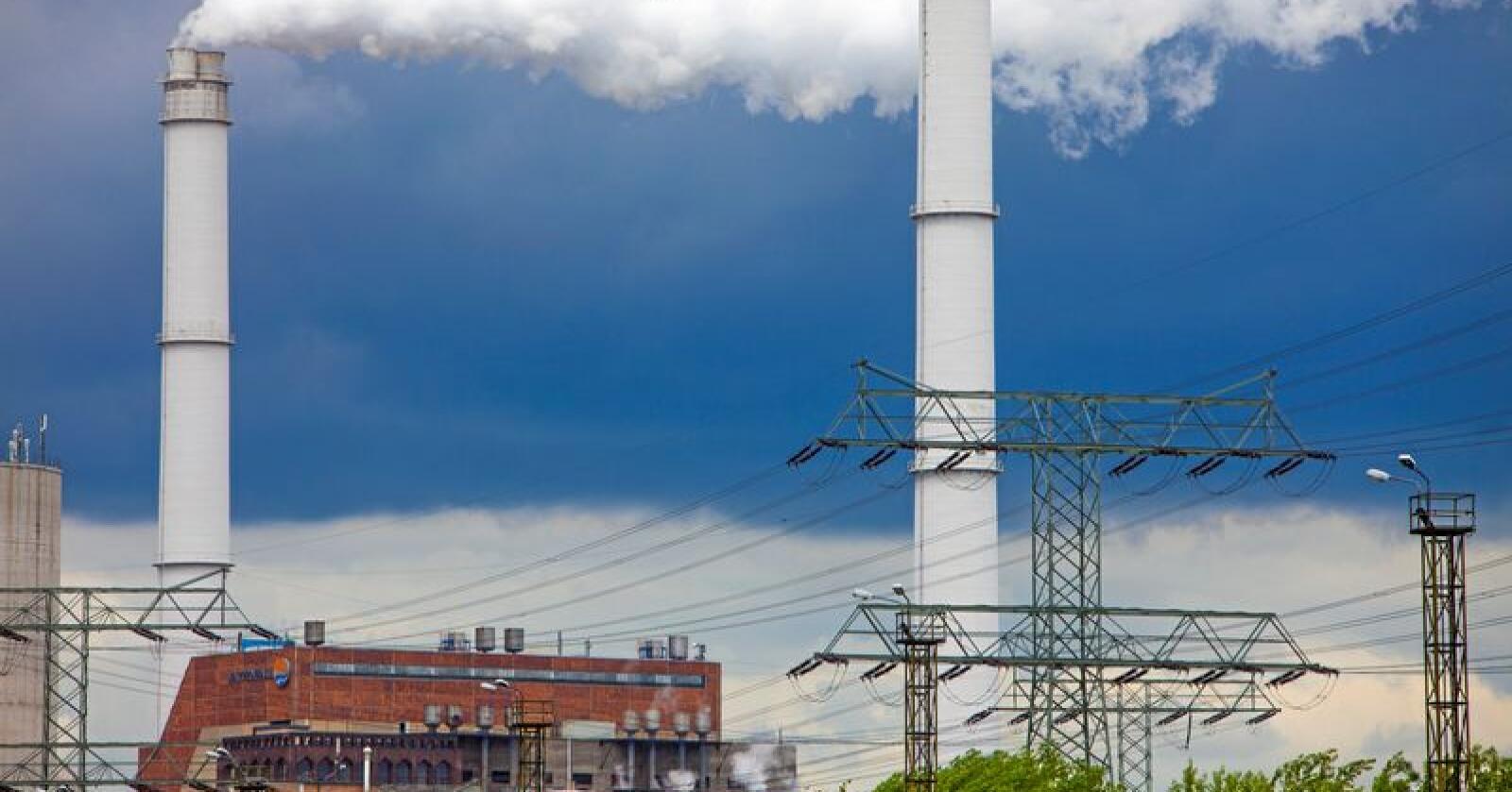 Kullkraftverk i Berlin, Tyskland. Foto: Jan-Morten Bjørnbakk / NTB scanpix
