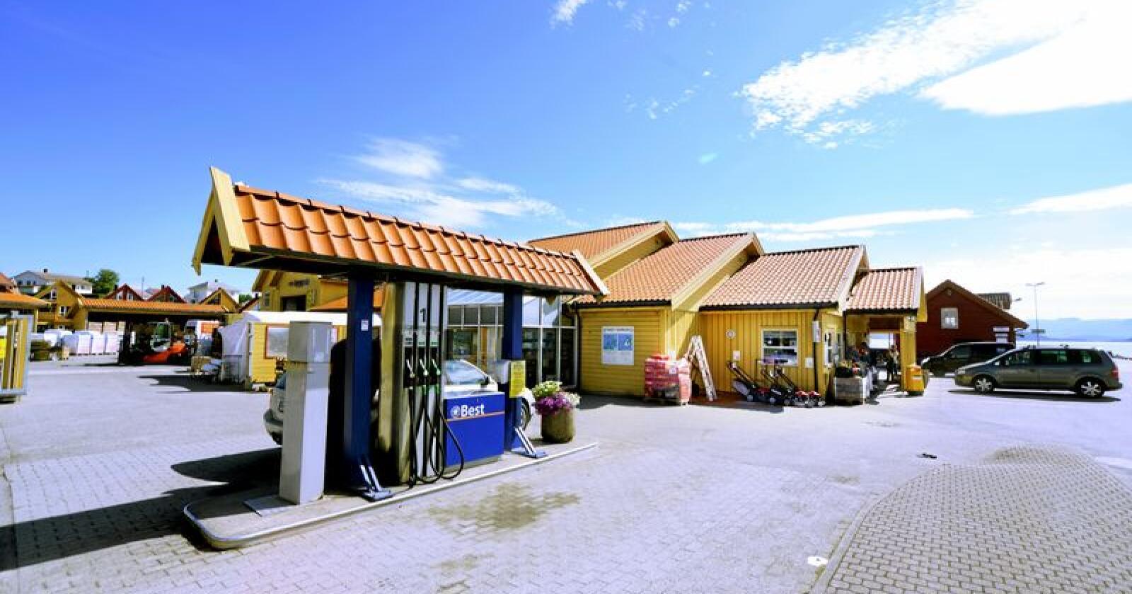 Ikke øl: Dagligvaresalg på bensinstasjon bør ikke inkludere alkohol. Foto: Siri Juell Rasmussen