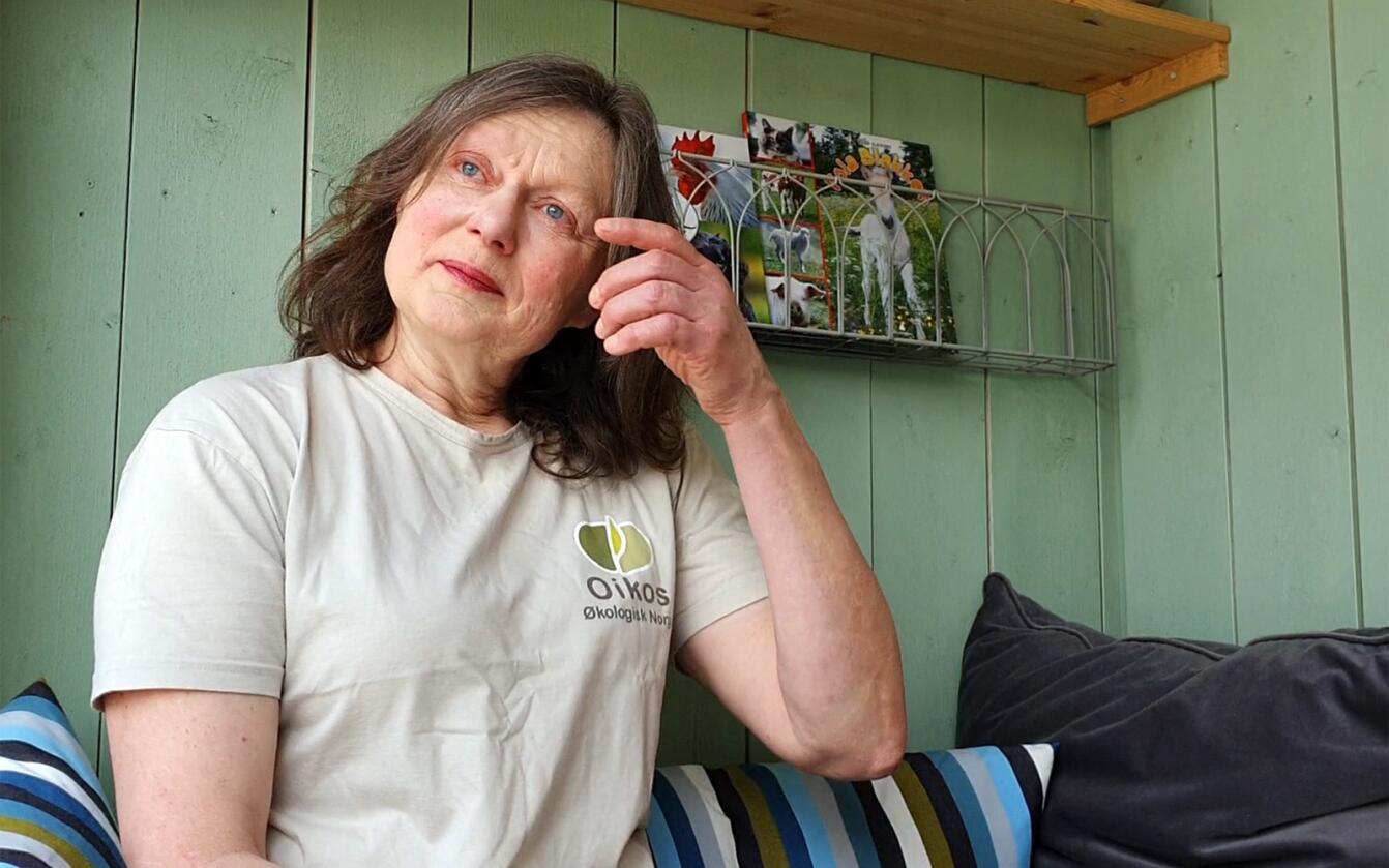 Merete Støvring fikk medhold i lagmannsretten, Mattilsynets tvangsslakt var et for drastisk virkemiddel. Nå venter hun på om departementet vil anke. Foto: Ola Karlsen