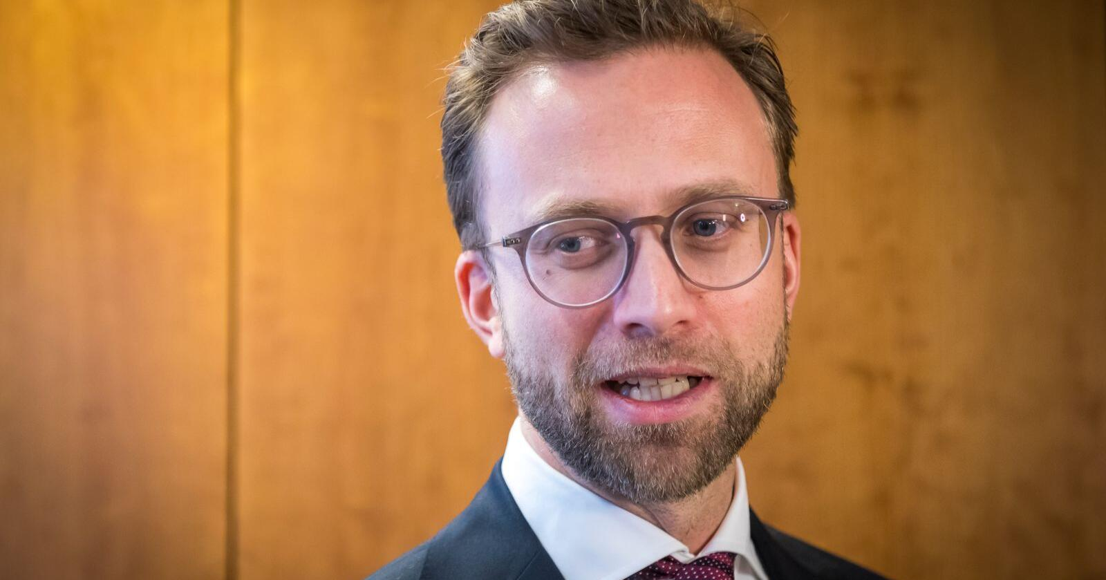 Digitaliseringsminister Nikolai Astrup (H). Foto: Heiko Junge / NTB scanpix