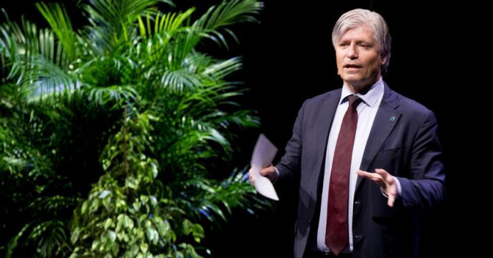 Miljø- og klimaminister Ola Elvestuen (V) mener klimaavtalen Norge mandag inngikk med EU er historisk og viktig. Foto: Terje Pedersen / NTB scanpix