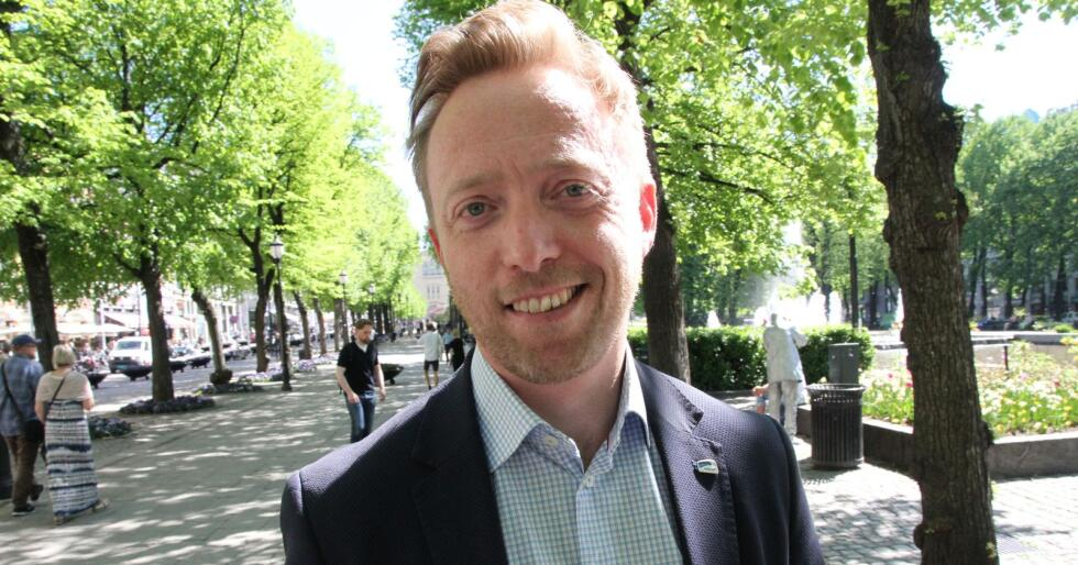 John-Ragnar Aarset går av som generalsekretær i Høgre. Foto: Kjell Åsmund Sunde / NPK