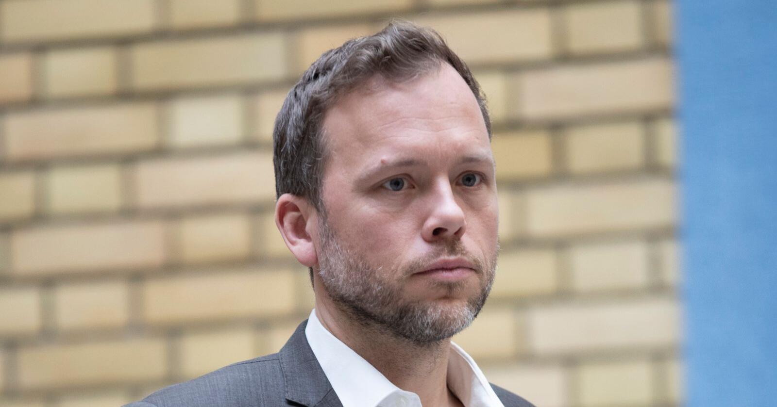 Regjeringens koronafullmakter er ute på høring, og SV- leder Audun Lysbakken ønsker en rask oppheving. Hvor rask vites ikke. Foto: Terje Bendiksby / NTB scanpix