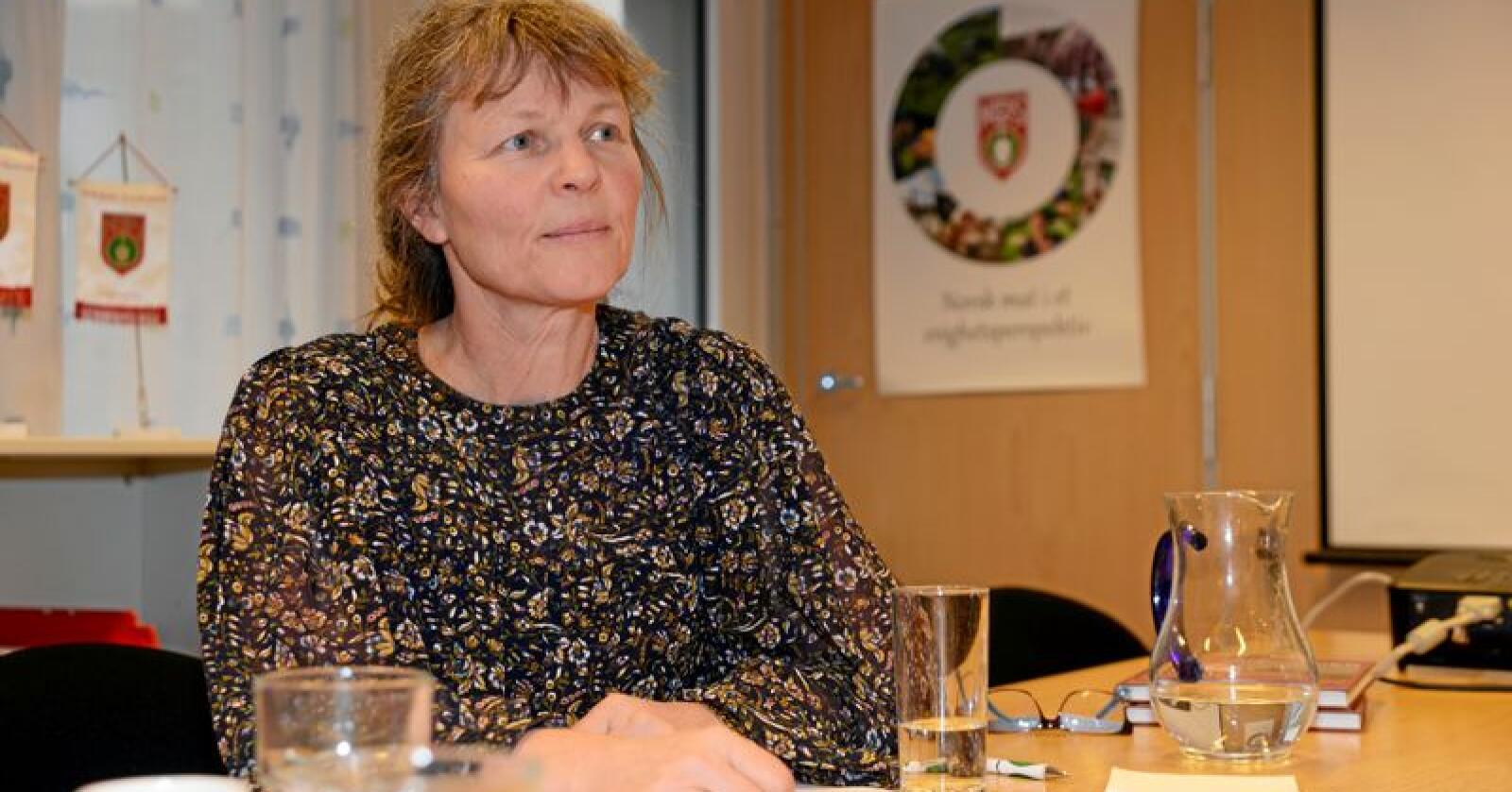 Leder i Norsk-Bonde- og Småbrukarlag tror at merking av matens opprinnelsesland på restauranter vil gjøre forbrukerne mer bevisste. Foto: Mariann Tvete
