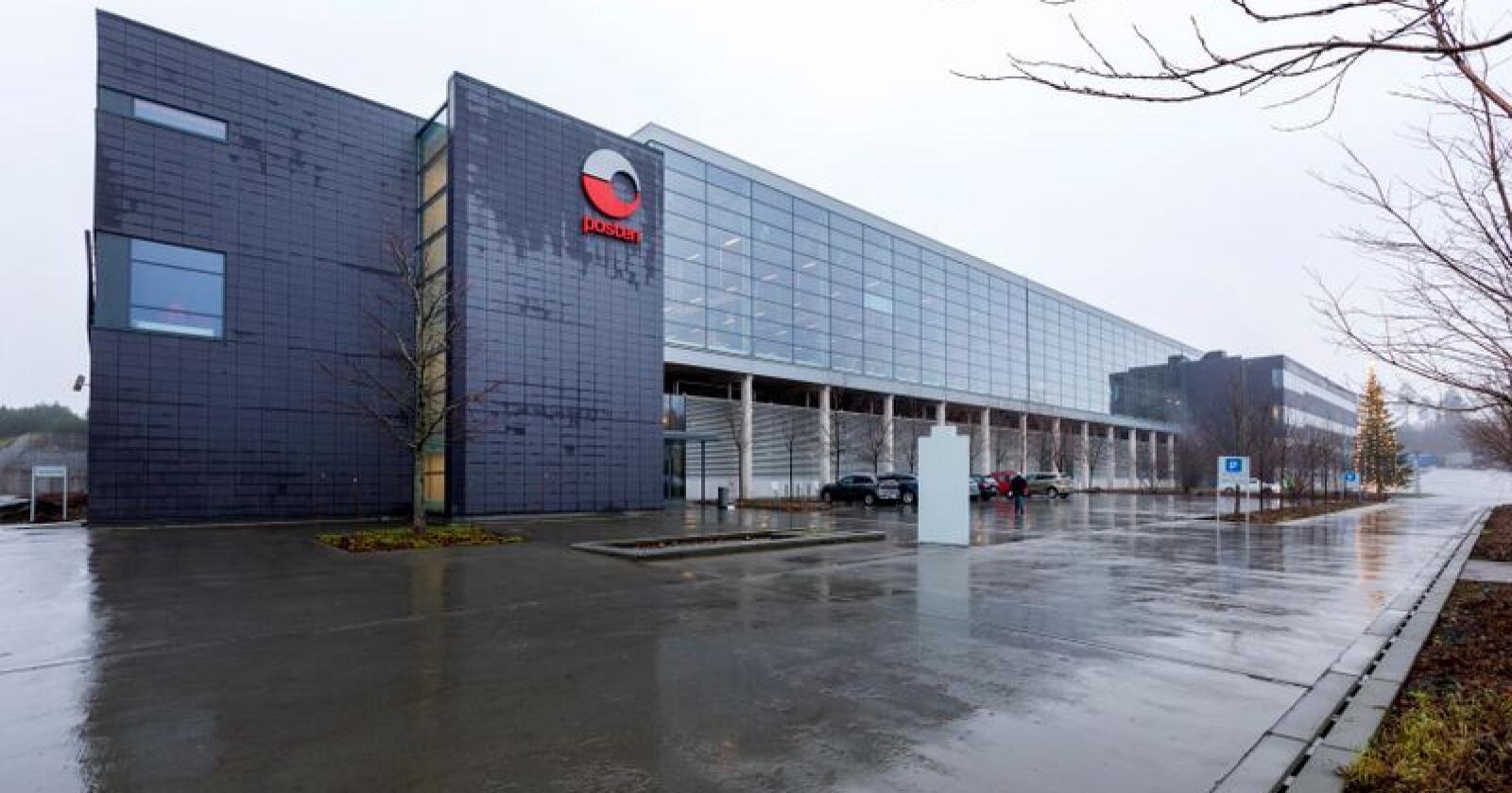 Heretter skal all sortering av post i Sør-Norge skje her på Postens terminal på Lørenskog. Foto: Gorm Kallestad / NTB scanpix