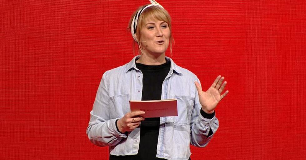 Ap-politiker Tonje Brenna lover gratis skolemat i sitt fylke hvis hun vinner valget. Foto: Arbeiderpartiet