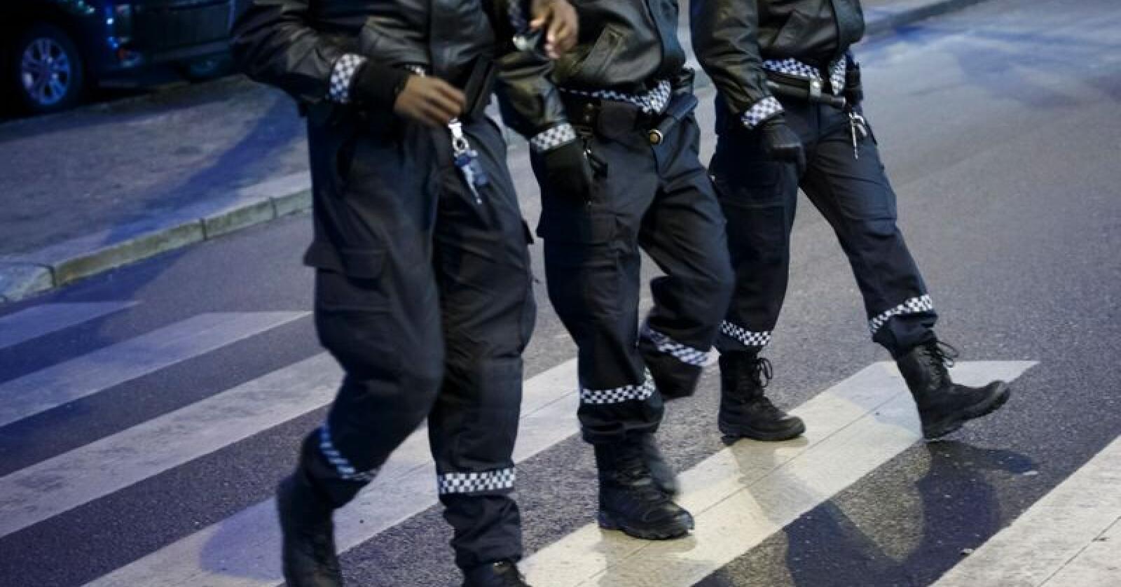 Politiet har flere titalls ubesatte stillinger. Politidirektoratet erkjenner at noen distrikter henger etter når det gjelder oppbemanningen. Foto: Heiko Junge / NTB scanpix